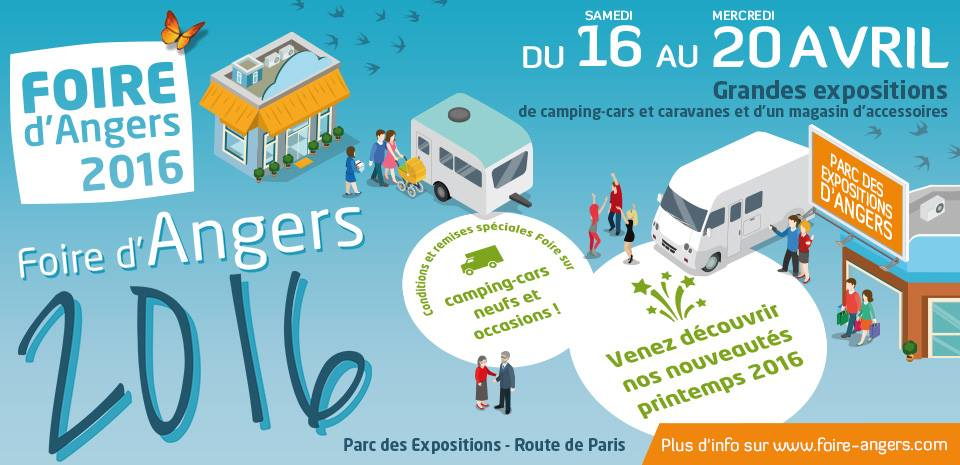 Foire d'Angers Caravaning Central camping-car