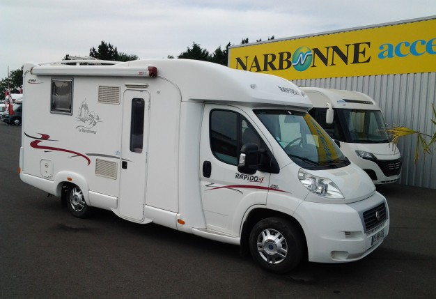 Annonce rapido 990 f lit central camping car d - Camping car rapido occasion lit central ...