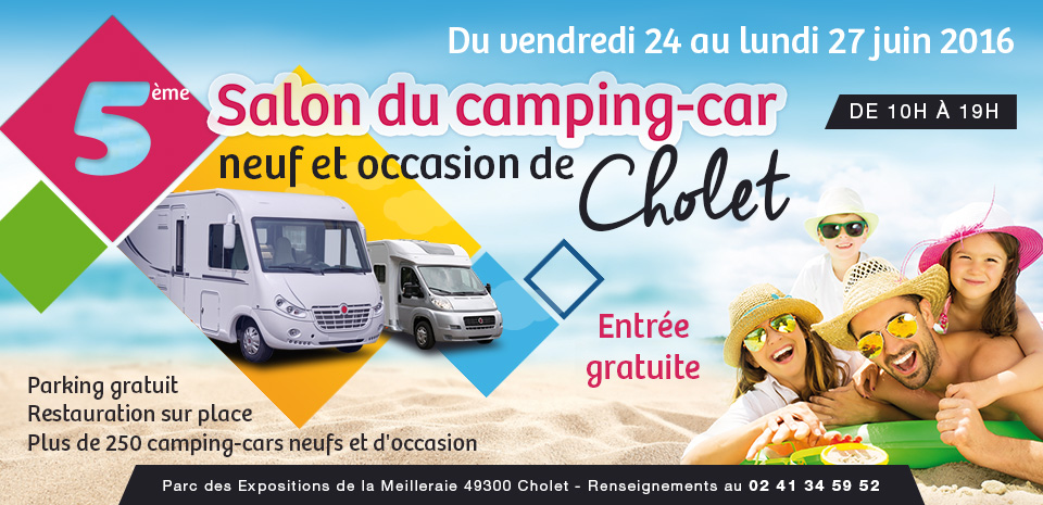 5 me salon du camping car de cholet caravaning. Black Bedroom Furniture Sets. Home Design Ideas