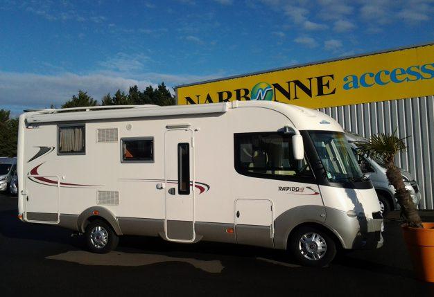 annonce rapido 990 f lit central camping car d occasion rapido 990 f lit central. Black Bedroom Furniture Sets. Home Design Ideas