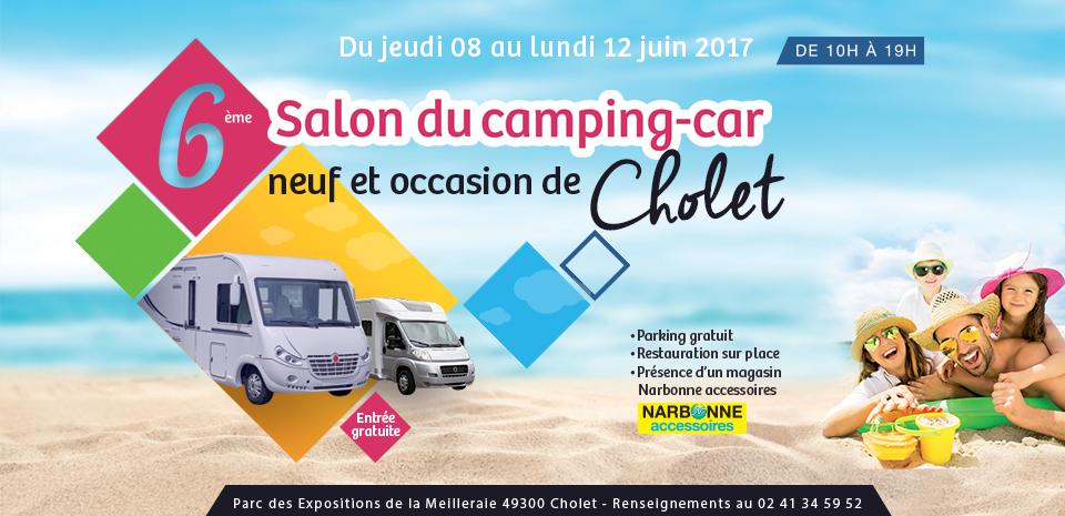 Caravaning central camping car et caravane d 39 occasion for Salon du camping car angers