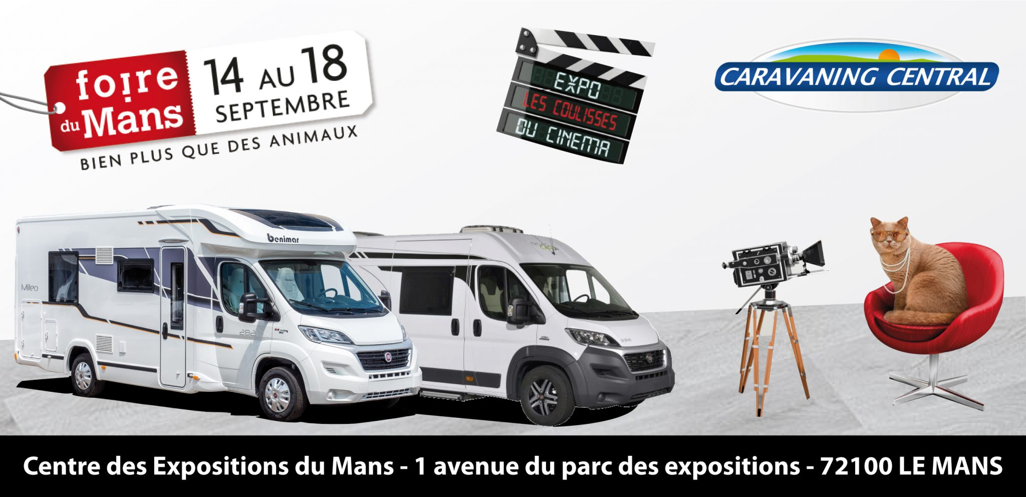 rendez vous la foire du mans du 14 au 18 septembre caravaning. Black Bedroom Furniture Sets. Home Design Ideas