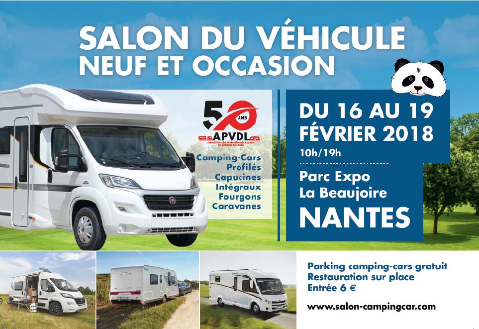 Salon du v hicule de loisirs nantes caravaning for Salon vehicule de loisir